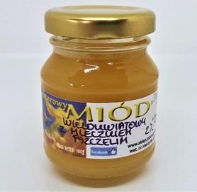 miód wielokwiatowy kremowany z mleczkiem pszczelim 100