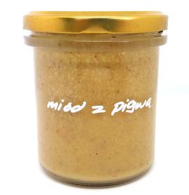 miód z pigwą pasieka pszczoły i my 400 g