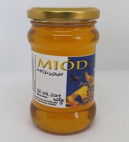 miód kminkowy z pasieki pszczoły i my 400 g