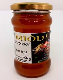 miód wrzosowy płynny z pasieki pszczoły i my płynny w słoiku 400 g
