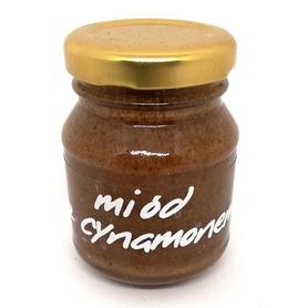 miód z cynamonem pasieka pszczoły i my 100 g