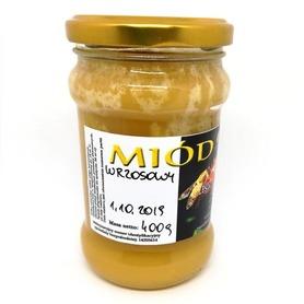 miód wrzosowy z pasieki pszczoły i my skrystalizowany w słoiku 400 g