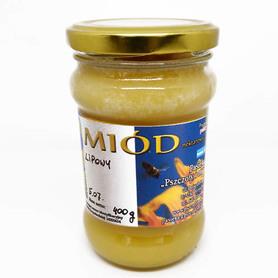 Miód lipowy skrystalizowany 400 g