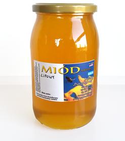 Miód lipowy płynny 1,1 kg