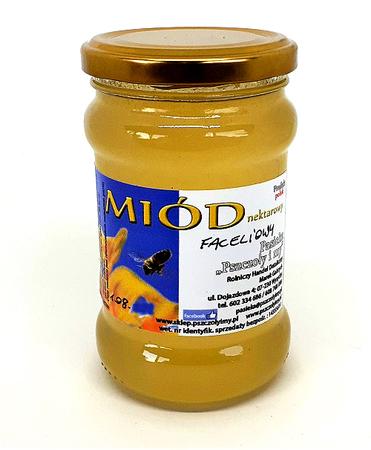 Miód faceliowy płynny 400 g_pasieka_pszczoly_i_my