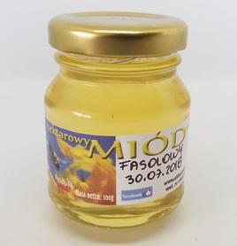 miód fasolowy płynny 100 g