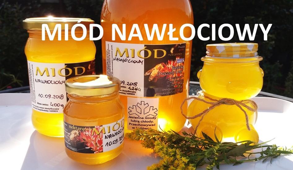 Miód nawłociowy z pasieki Pszczoły i My